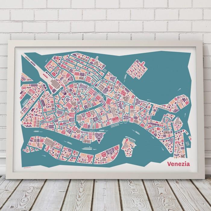 Vianina Venedig Poster