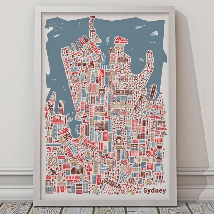 Vianina Sydney Poster
