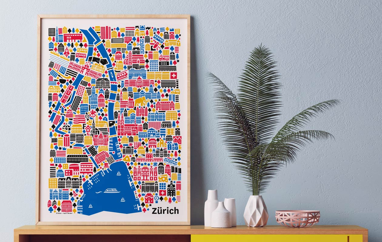Vianina-Stadtplan-Zuerich