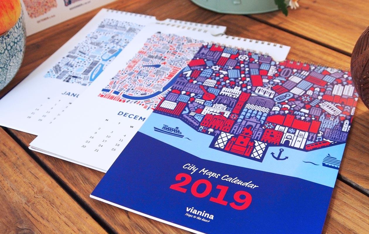 Vianina-Kalender2019-Lissabon-Stadtplan