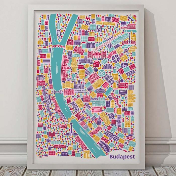 Vianina Budapest Poster