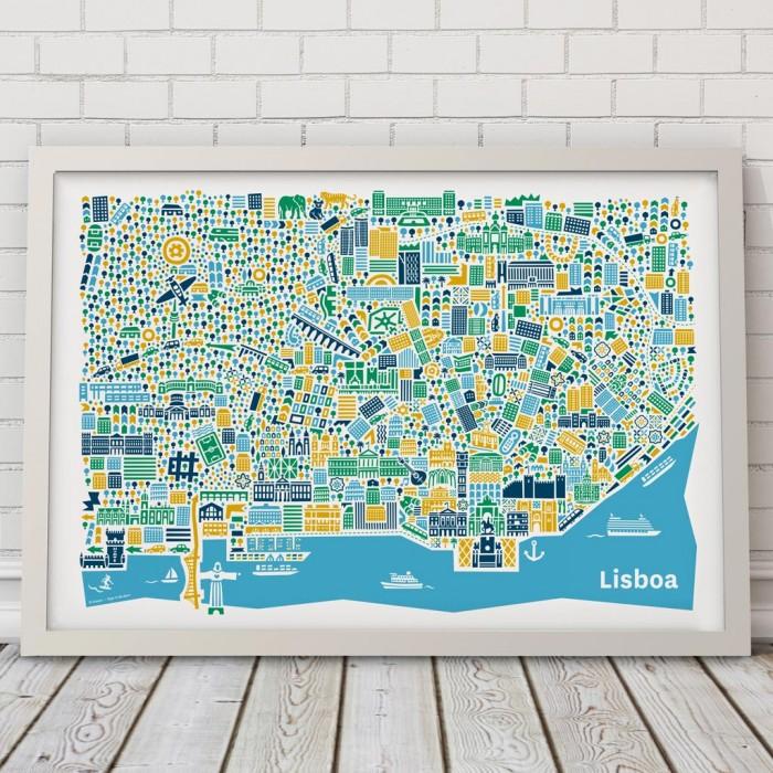 Vianina Lissabon Poster