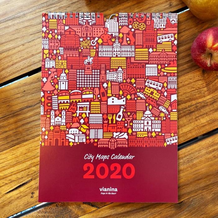 Stadtplan Kalender 2020