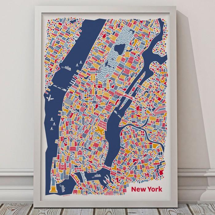Vianina New York Poster