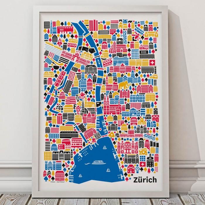 Zürich Poster