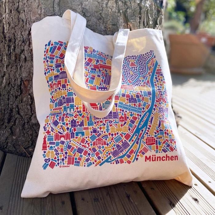 München Stadtplan Tasche
